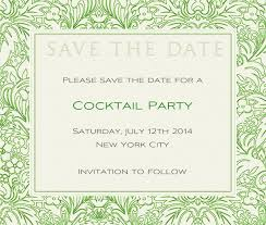 Elegant Floral Border Wedding Save The Dates