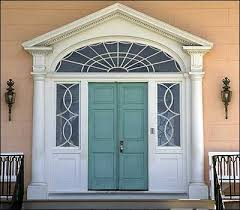 the front doorThe Restoration of James Madisons Montpelier  The Colonial