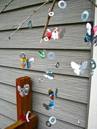 How To Make A Wind Chime Recycled Wind Chimes Made By Marzipan
