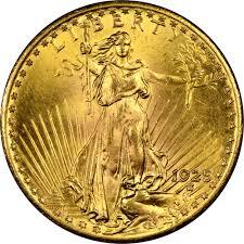 1925 20 Ms Saint Gaudens 20 Ngc