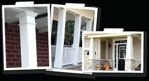 exterior column wraps. Front Porch Column Wrap Image Of Wraps . Exterior O