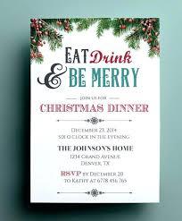 Blank Christmas Menu Template Free Opusv Co