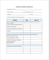 Receiving Checklist Template New Employee Checklist Template