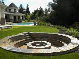 Backyard Design Ideas With Fire Pit  Backyard Fire Pit Designs Backyard Fire Pit Design Ideas