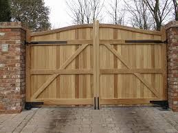... Engaging Picture Of Home Exterior Decoration With Various Wooden Gate :  Beauteous Picture Of Home Exterior ...