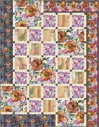 Timeless Treasures   Tuesday Teaser: Quilt Market Edition! & Indian Summer – Magic Carpet Quilt by Pam See, Vanilla Latte Designs Adamdwight.com