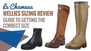 Le Chameau Size Chart Le Chameau Wellies Sizing Guide Do They Come Up Small