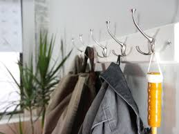 Standard Height For Coat Rack How to Hang a Coat Rack on a Wall howtos DIY 45
