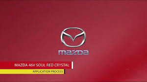 Nexa Auto Color Chart Nexa Autocolor Mazda 46v Repair Process