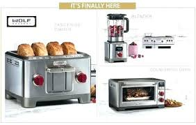 wolf gourmet blenders toasters ovens oven convection manual new counter and kitchen tools oh my toaster countertop