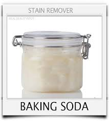 baking soda sn remover