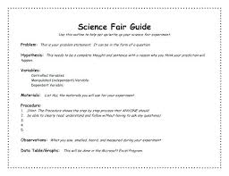 Template For Science Fair Project Medium Image For Science Fair Project Research Paper Examples