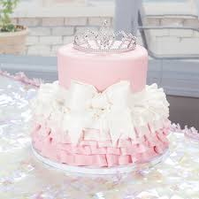 This Princess Cake Is Topped With A Tiara From Shindigz Cute For A
