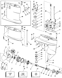 outboard diagram also 8 mercury outboard parts diagram on marine here the lower unit is in exploded view for a 1984 the long diagram also 2001 mercury