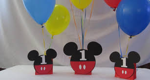 items balloon centerpiece mickey mouse party