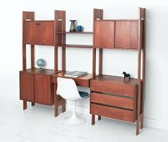 office furniture wall unit. Mid Century Office Furniture Wall Unit