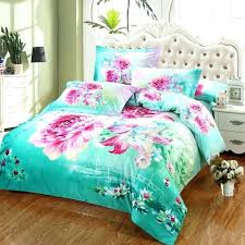 turquoise comforter full pink flower bedding sets queen size bed duvet covers cotton and turquo pink and brown comforter set turquoise