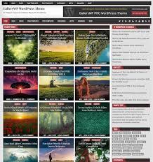 Wordpress Photo Gallery Theme Gallerywp Wordpress Theme Themesdna Com