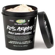Lush rose argan body conditioner