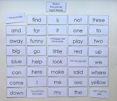 Teacher Made Resource Dolch Pre Primer Sight Word Flashcards