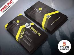 Free Design Business Cards Modern Business Cards Design Templates Psd Graphicslot