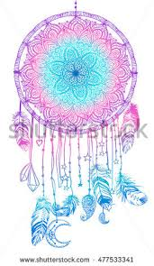 What Native American Tribes Use Dream Catchers Hand Drawn Native American Indian Talisman Stock Vector 100 14