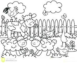 colouring for children. Brilliant Colouring Barnyard Coloring Pages Free Printable Farm Animal Colouring Children Sheets Intended For C