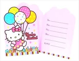 Hello Kitty Printable Party Invitations Cryptoforpak
