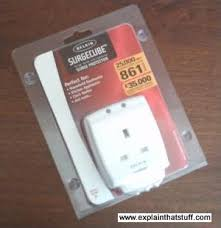 how do surge protectors and fuses work explain that stuff belkin surge protector