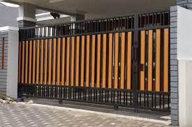 Tinggi pagar sendiri bisa bervariasi mulai dari satu hingga satu setengah meter. 11 Desain Pagar Minimalis Modern Bisa Juga Untuk Rumah Type 36 Dan Type 45 Rumah123 Com