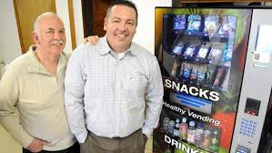 Bad Grandpa Vending Machine Fascinating Father And Son Set Up Healthy Vending Kiosks Hudson Valley One
