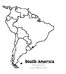 North And South America Blank Map Central America Blank Map Printable Pergoladach Co