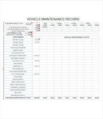 Vehicle Log Spreadsheet Auto Maintenance Spreadsheet Vehicle Log Sample Up Date Impression
