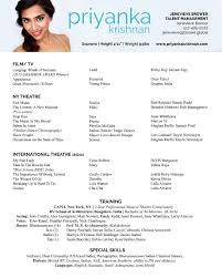 Singer Resume Template. Dance Resume Templates Dancer Resume Samples ...