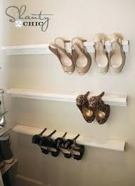diy shoe rack for closet hanging shoe storage diy shoe closet organizer