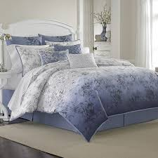 attractive inspiration ideas periwinkle comforter set essential home 16 pc medallion