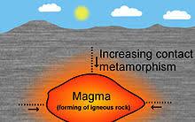 Metamorphic Rock Chart Metamorphic Rock Wikipedia