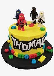 Lego Ninjago Birthday Cake - The French Cake Company