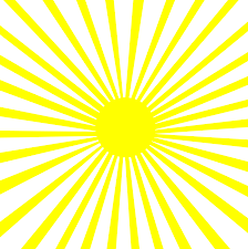 Sun Pattern Magnificent Lineart Burst Sun Pattern Yellow White Clip Art Sweet Clip Art