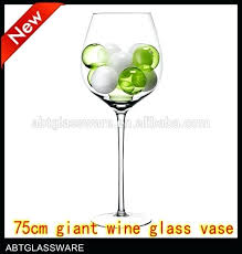 giant glass of wine giant wine glass vase shaped glass vases giant plastic wine glass decoration