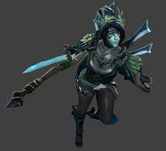 dota 2 female heroes id 163918 buzzerg