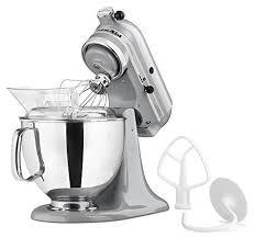 kitchenaid mixer metallic chrome. kitchenaid artisan series 5-quart stand mixer, metallic chrome kitchenaid mixer