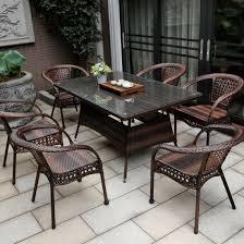china outdoor patio furniture rattan