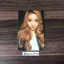 Red Velvet Kpop Official Photocards Ice Cream Cake Joy On Depop