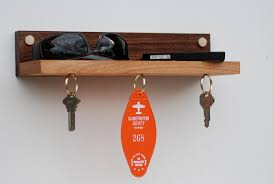 magnetic key ring holder