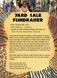 yard fundraiser flyer related keywords suggestions yard yard flyer samples fundraiser