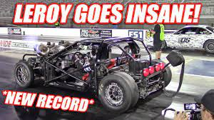 Leroy GOES OFF! Our First 170+mph Pass and His NEW Record Time!! - YouTube
