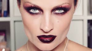 Modern Gothic Vamp Makeup YouTube