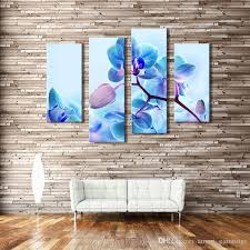discount 4 picture combination moth orchid flower canvas art modern print oil painting on canvas wall art deco for home decoration from china dhgate com on orchid canvas wall art with discount 4 picture combination moth orchid flower canvas art modern