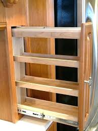 diy pull out spice rack medium size of cabinets pull out spice racks for kitchen perhaps